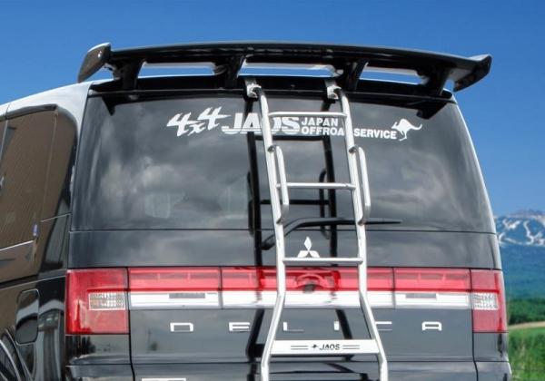 【ジャオス】JAOS ルーフスポイラー デリカ D5 年式:07.01- 適応:全車 -