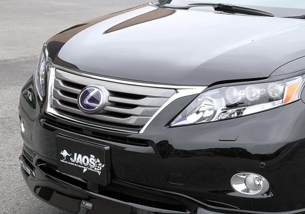 【ジャオス】JAOS フロントグリル RX 09-15 FRONT GRILLE LEXUS RX450h 09-12 【年式: 2009MY-2012MY】 【適応: RX450h】