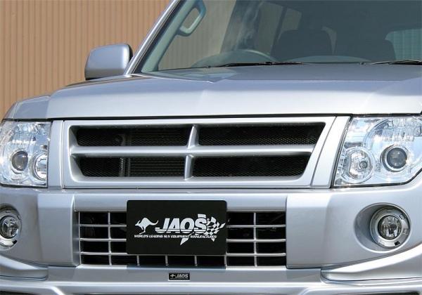 【ジャオス】パジェロ V80/90系 フロントグリル PAJERO / MONTERO 11+ 【年式: 11.10-14.07】 【適応: ALL】