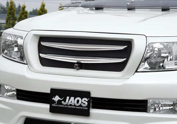 【ジャオス】JAOS クロームブレードグリル フロントカメラ付用 ランドクルーザー 200系 CHROME BLADE GRILLE LC200 07-11 WITH F/CAMERA 【年式: 07.09-11.12】 【適応: ALL】