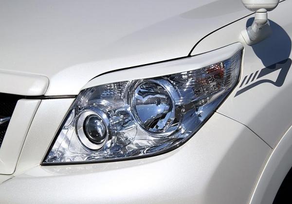 【ジャオス】JAOS ヘッドライトガーニッシュ プラド 150系 ABS 年式:09..09 適応:全車