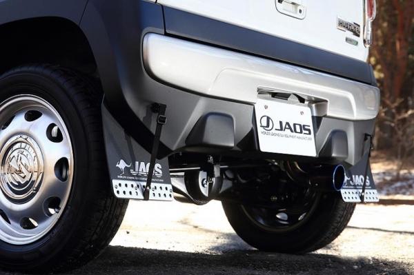 【ジャオス】JAOS マッドガード3 リヤ ブラック ハスラー HUSTLER 【年式: 14.01-】 【適応: ALL】
