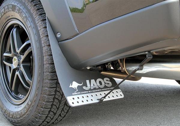 【ジャオス】JAOS マッドガード3 リヤセット ブラック エクストレイル 31系 年式:07.08- 適応:全車
