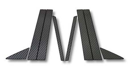 240 カルディナ   その他 外装品【ハセプロ】カルディナ AZT/ST/ZZT240系 (2002.9~2007.5) マジカルカーボン ピラーセット カラー:ブラック