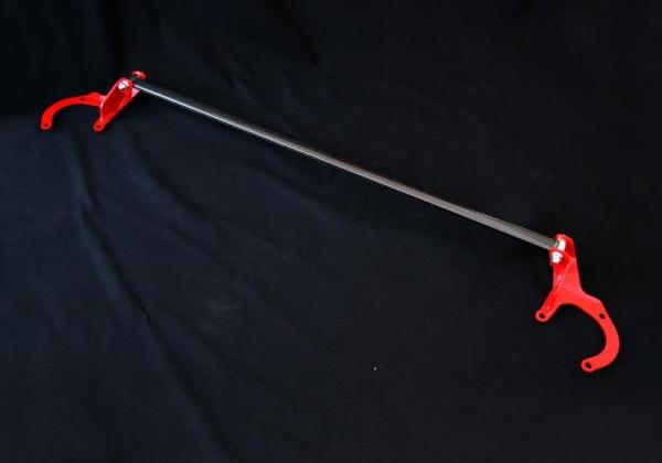 【ジャオス】BATTLEZアルカーボンタワーバー フロント ヴァンガード AL-CARBON TOWER BAR VANGARD 【年式: 07.08-】 【適応: ALL】