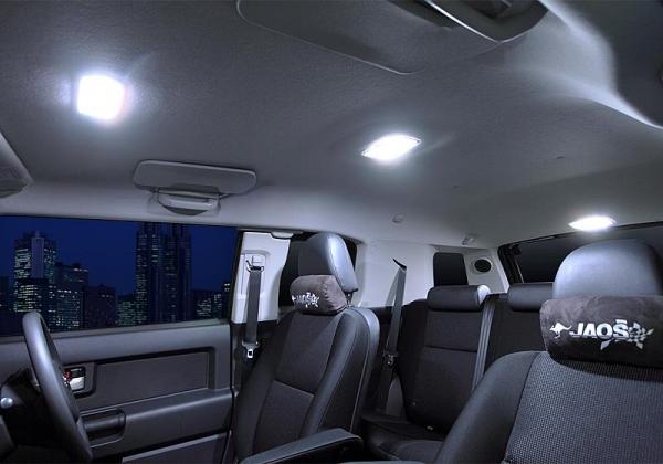 【ジャオス】JAOS LEDルームランプ FJクルーザー (フロント/センター/リア) 年式:10.11- 適応:クロールコントロール付車 除く