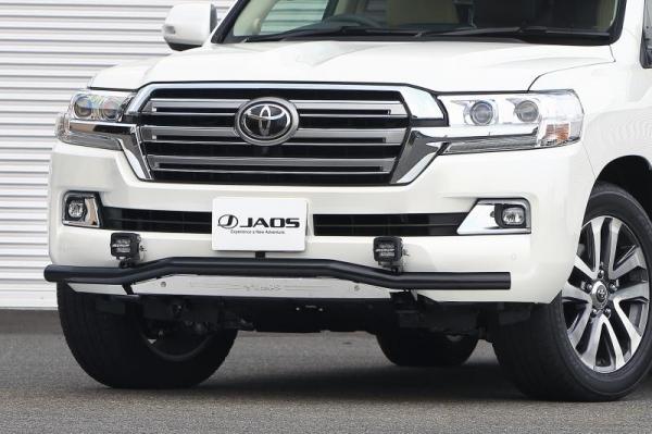 【ジャオス】JAOS フロントスキッドバー 15+ ブラック/ブラスト ランドクルーザー 200系 FRONT SKID BAR BLACK/BLAST ランドクルーザー 200 15+ 【年式: 15.08-】 【適応: ALL】
