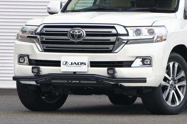 【ジャオス】JAOS フロントスキッドバー 15+ ブラック/ブラック ランドクルーザー 200系 FRONT SKID BAR BLACK/BLACK ランドクルーザー 200 15+ 【年式: 15.08-】 【適応: ALL】
