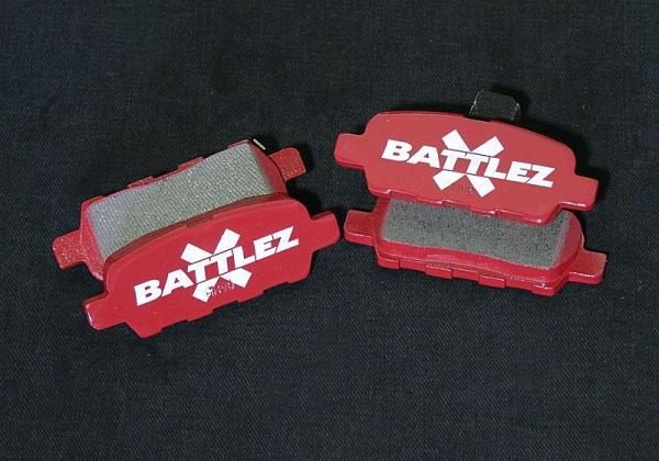 【ジャオス】BATTLEZ×BP typeMII リヤ エクストレイル 30系 BATTLEZ BRAKE PAD X-TRAIL 07+ REAR 【年式: 00.11-】 【適応: ALL】