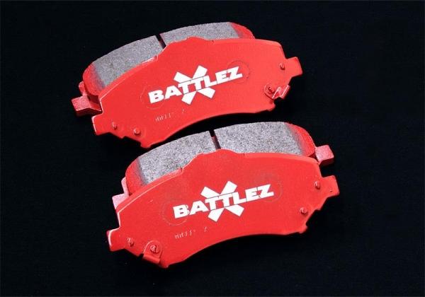 【ジャオス】BATTLEZ×BP typeMII フロント ラングラー JK BATTLEZ BRAKE PAD TYPE2 FRONT JK WRANGLER 07+ 【年式: 07.03-】 【適応: ALL】