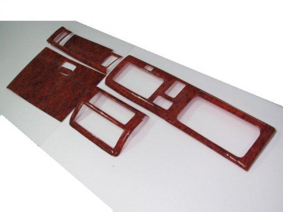 【ハロースペシャル】ハイゼットT500系3Dインテリアパネル 6P 新色茶ウッド調