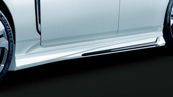 22 クラウン   サイドステップ【トヨタモデリスタ】クラウン 220系 RS サイドスカート 塗装済 ブラック