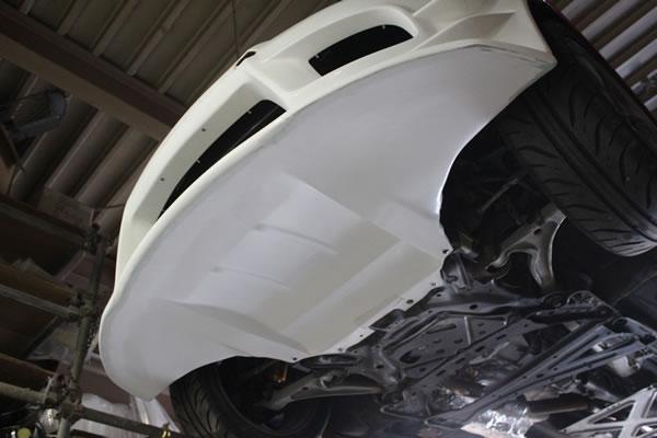NC ロードスター   フロントバンパー【ガレージベリー】ロードスター NC2 フロントバンパー T-N アンダーパネル付