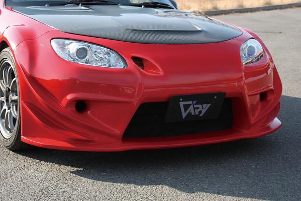 NC ロードスター | フロントバンパー【ガレージベリー】ロードスター NC2 フロントバンパー T-S アンダーパネル付レース仕様