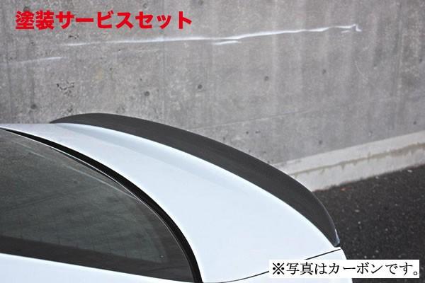★色番号塗装発送アウディ A3 8V | トランクスポイラー / リアリップスポイラー【ガレージベリー】A3 SEDANトランクスポイラー