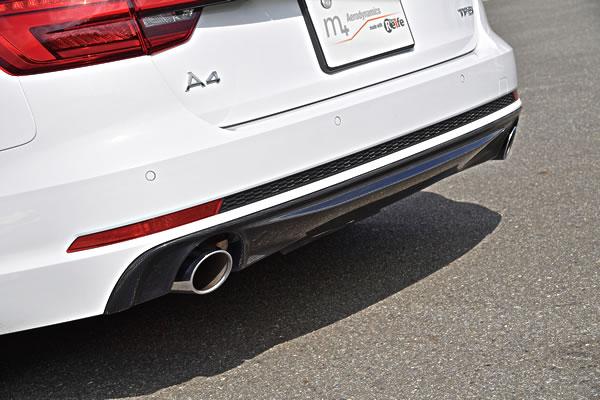 Audi A4 | リアアンダー / ディフューザー【ガレージベリー】A4 Avant S-Lineリアディフューザー