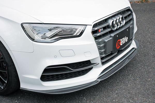 Audi S3 SEDAN 8V | フロントリップ【ガレージベリー】S3 8V セダン フロントリップスポイラー