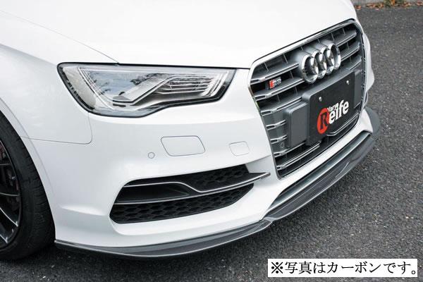 Audi S3 SEDAN 8V   フロントリップ【ガレージベリー】S3 8V セダン フロントリップスポイラー
