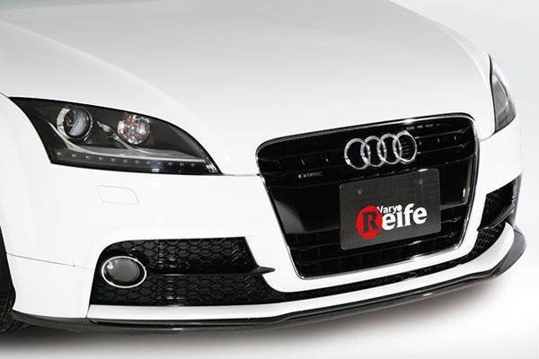 Audi TT 8J   フロントリップ【ガレージベリー】AUDI TT 後期(2010年~) S-Line フロントリップスポイラー