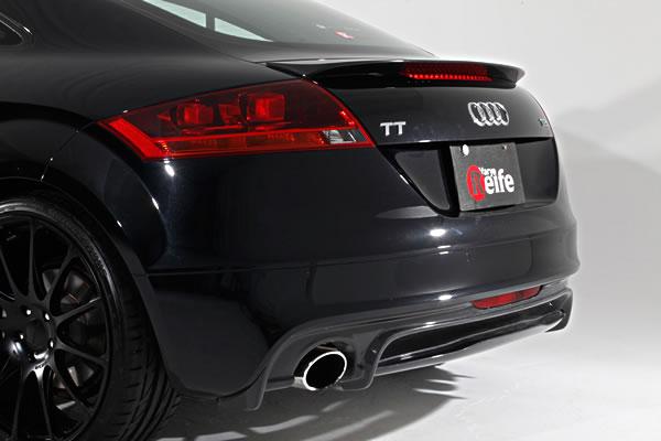 Audi TT 8J | リアアンダー / ディフューザー【ガレージベリー】AUDI TT 後期(2010年~) リアディフューザー