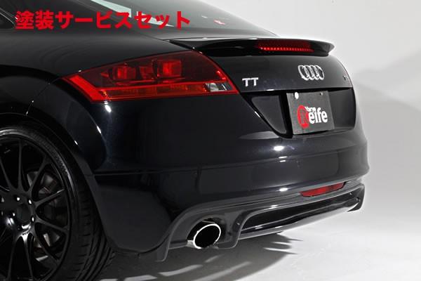 ★色番号塗装発送Audi TT 8J | リアアンダー / ディフューザー【ガレージベリー】AUDI TT 後期(2010年~) リアディフューザー