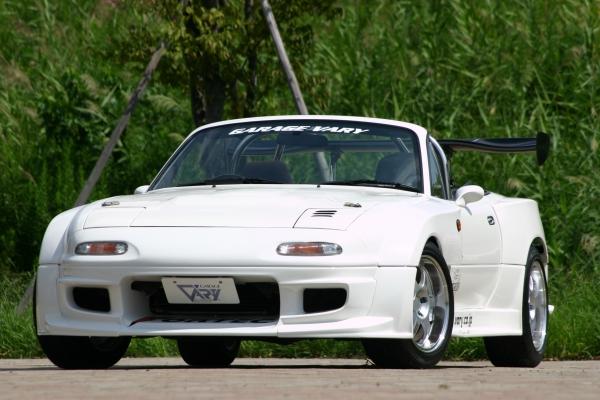 NA ロードスター | フロントフェンダー / (交換タイプ)【ガレージベリー】ロードスター NA フロントフェンダー T-1サイドレース用5点