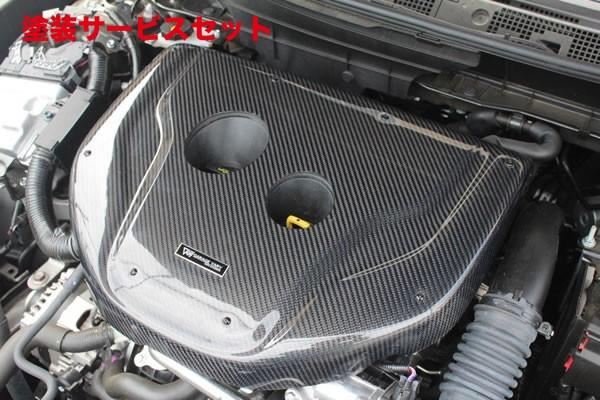 ★色番号塗装発送CX-3 | エンジンエア / アウトレットカバー【ガレージベリー】CX-3 DK5FW/DK5AW エンジンフードカバー(1.5L ディーゼル用)