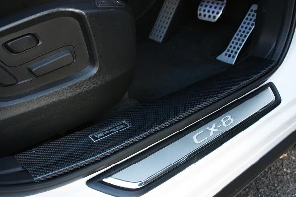 CX-8 | スカッフプレート【ガレージベリー】CX-8 KG スカッフプレート(フロント左右)