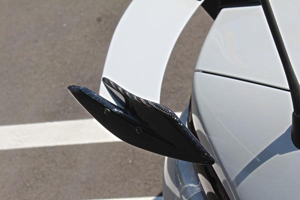 ND ロードスター   GT-WING【ガレージベリー】ロードスター ND ノーマルバンパー用エモーショナルGTウイング翼端板カーボン製ASタイプ