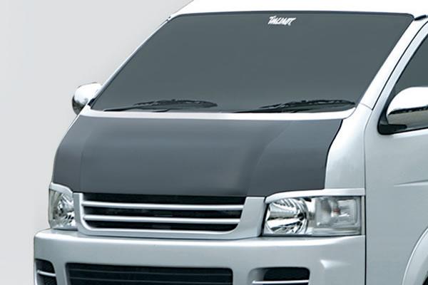 200 ハイエース 標準ボディ   ボンネットフード【ガレージベリー】ハイエース 200系 3型 ワイドボディ ボンネット T-1