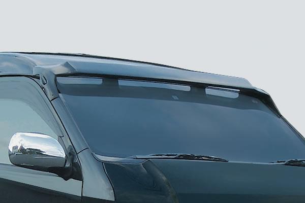 200 ハイエース 標準ボディ | ルーフスポイラー / ハッチスポイラー【ガレージベリー】ハイエース 200系 4型 ワイドボディ トップスポイラー(ミドルルーフ用)
