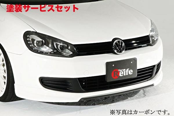 ★色番号塗装発送VW GOLF VI   フロントカナード【ガレージベリー】GOLF 6 ヴァリアント フロントスプリッター