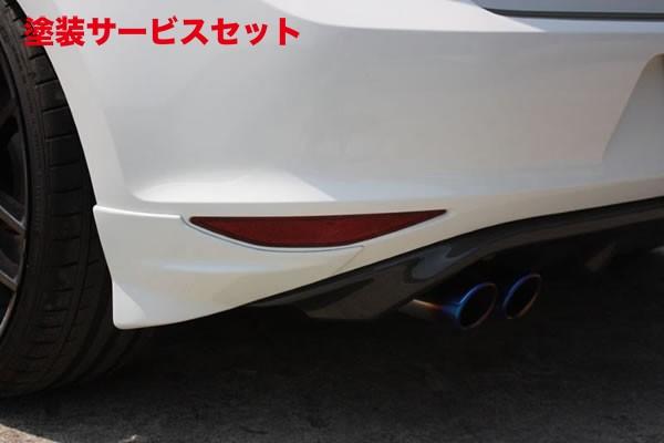 ★色番号塗装発送フォルクスワーゲン ゴルフ 7 VW GOLF VII | リアマットガード / リアサイドスポイラー【ガレージベリー】GOLF 7 GTI マットガード