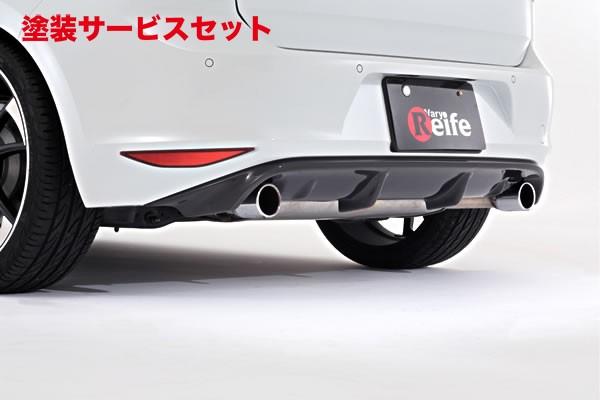 ★色番号塗装発送フォルクスワーゲン ゴルフ 7 VW GOLF VII | リアアンダー / ディフューザー【ガレージベリー】GOLF 7 GTI リアディフューザー