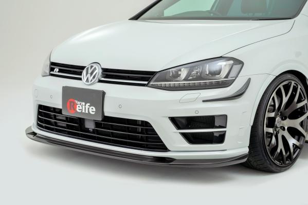 フォルクスワーゲン ゴルフ 7 VW GOLF VII | フロントリップ【ガレージベリー】GOLF 7 R フロントリップスポイラー