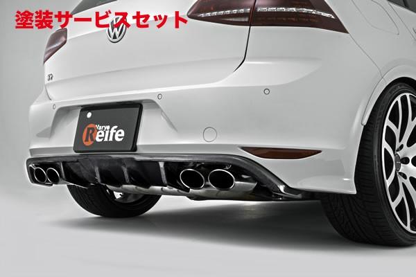 ★色番号塗装発送フォルクスワーゲン ゴルフ 7 VW GOLF VII | リアアンダー / ディフューザー【ガレージベリー】GOLF 7 R リアディフューザー