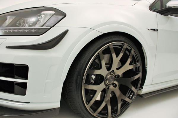 フォルクスワーゲン ゴルフ 7 VW GOLF VII   オーバーフェンダー / トリム【ガレージベリー】GOLF 7 R ローダウンフェンダートリム