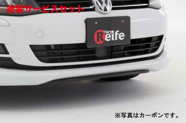★色番号塗装発送フォルクスワーゲン ゴルフ 7 VW GOLF VII   フロントカナード【ガレージベリー】GOLF 7 TSI フロントスプリッター