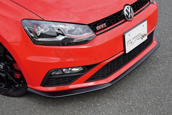 VW POLO 6R/6C | フロントリップ【ガレージベリー】Polo GTI 6C 後期 フロントリップスポイラー(ウレタン)