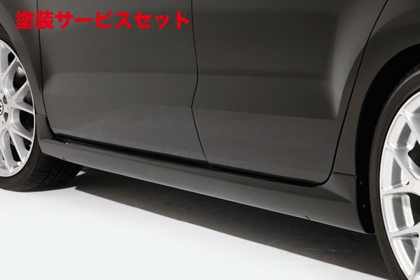 ★色番号塗装発送VW POLO 6R/6C | サイドステップ【ガレージベリー】Polo GTI 6R 前期 サイドステップ