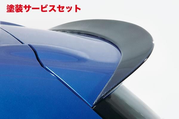 ★色番号塗装発送VW Scirocco   ルーフスポイラー / ハッチスポイラー【ガレージベリー】Scirocco R リアルーフスポイラー