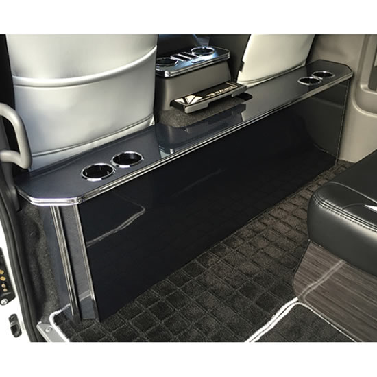 インテリア その他【レガンス】NV350キャラバン E26 パーソナルカウンターテーブル ドリンクホルダー 4個 左右 マホガニー