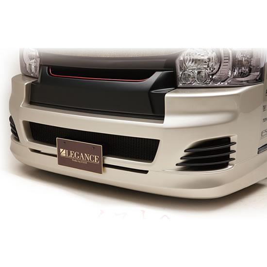 200 ハイエース 標準ボディ | フォグカバー【レガンス】ハイエース 200系 4型 ワイドボディ フルバンパー用ユーロバンパースリット