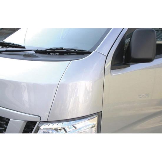 その他 外装品【レガンス】NV350キャラバン E26 ABSコーナーパネル (カラー:純正塗装済 ブリリアントホワイトパール (3P) <#QAB> (特別塗装色) )
