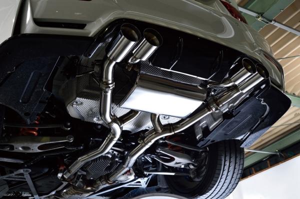 BMW M4 F82   ステンマフラー【ハイパースタイル】BMW F82 M4 ステンレスマフラー