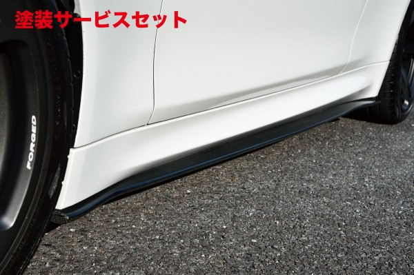 ★色番号塗装発送BMW M4 F82 | サイドステップ【ハイパースタイル】BMW F82 M4 サイドスカート カーボン製