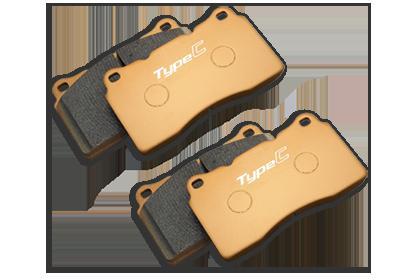 FK8 シビック TypeR | ブレーキパット / 前後セット【ムゲン】シビック TYPE R FK8 ブレーキパッド -タイプコンペティション- フロント