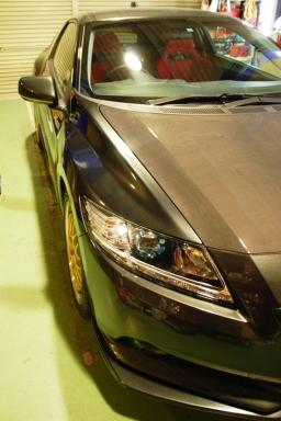 CR-Z | フロントフェンダー / (交換タイプ)【ミュルサンヌ】CR-Z ブリスターフェンダー フロントキット