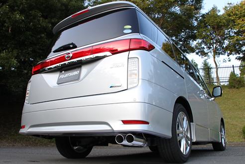 E52 エルグランド   エキゾーストキット / 排気セット【フジツボ】エルグランド PE52/PNE52 ハイウェイスター 3.5 2WD/4WD AUTHORIZE S (右W)