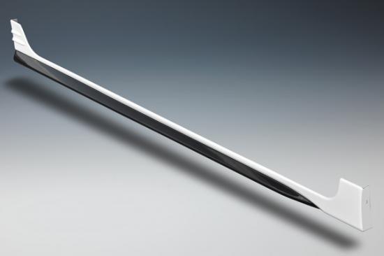 サイドステップ【ノブレッセ】フィット3 サイドステップ 塗分塗装済 ルーセブラックメタリック (NH821M)/ブラック (202)